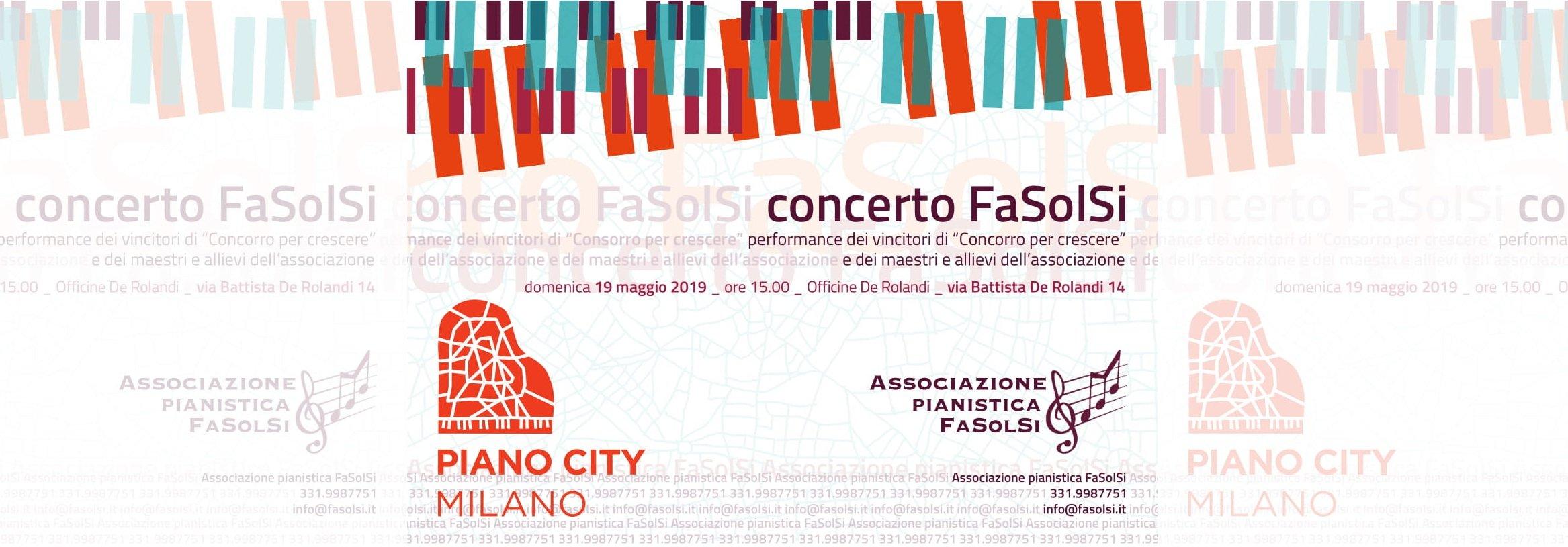 FaSolSi A Piano City Milano
